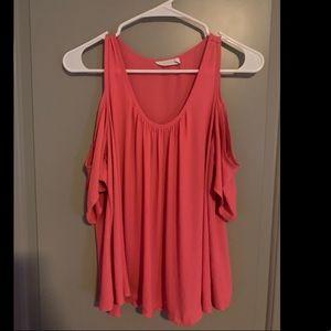 Cold shoulder blouse - Nordstrom